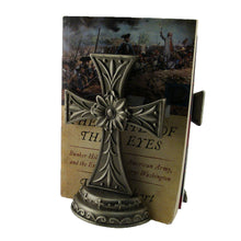 Load image into Gallery viewer, Cross Book Stands Set of 2