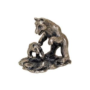 Bear & Cub Figurine