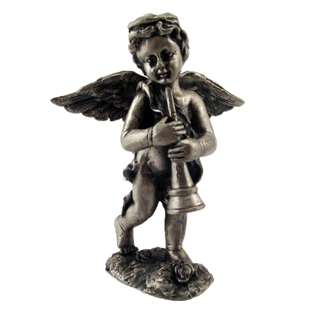 Angel with Trumpet Figurine