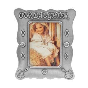 "Our Daughter Picture Frame, 2"" x 3"""