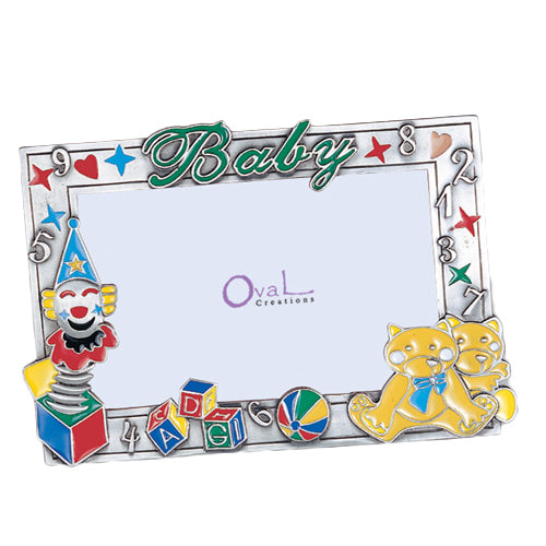 Baby, Crown, Toys Picture Frame, 4