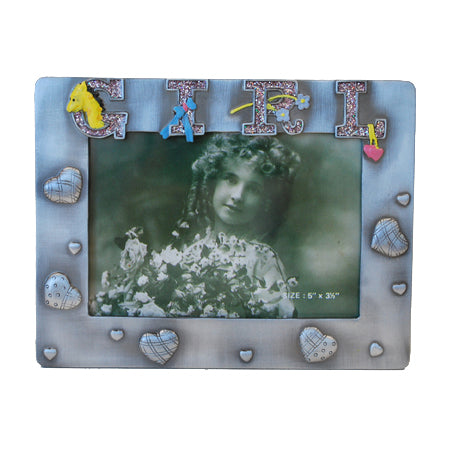 Girl Picture Frame, 3.5