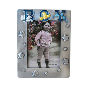 "Boy Picture Frame, 3.5"" x 5"""