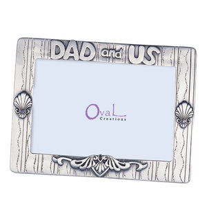 "Dad & Us Picture Frame, 4"" x 6"""