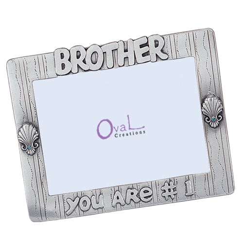 Brother, You Are #1 Picture Frame, 4