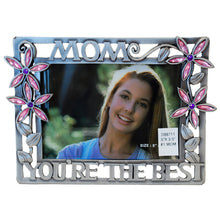 "Load image into Gallery viewer, Mom, You're The Best Picture Frame, 3.5"" x 5"""
