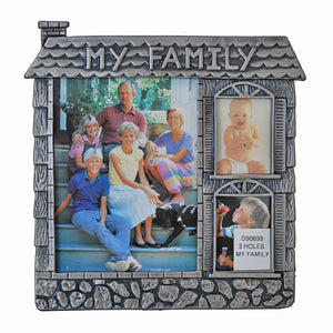 My Family, 3 Holes Picture Frame