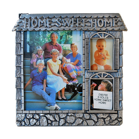 Home Sweet Home, 3 Holes Picture Frame
