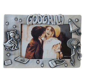 "Godchild Picture Frame, 3.5"" x 5"""