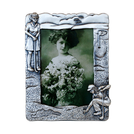 Golf Girl, Vertical Picture Frame, 3.5