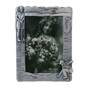 "Golf Girl, Vertical Picture Frame, 4"" x 6"""