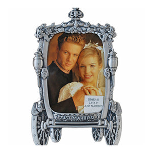 "Just Married Picture Frame, 3.5"" x 5"""