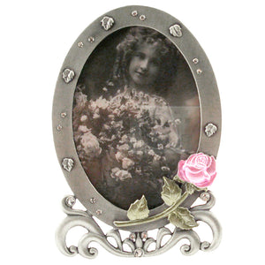 "Rose Picture Frame, 3.5"" x 5"""