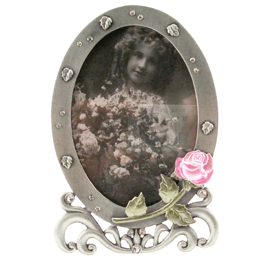 Rose Picture Frame, 3.5