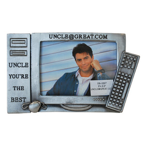 "Uncle@Great.Com Picture Frame, 3.5"" x 5"""