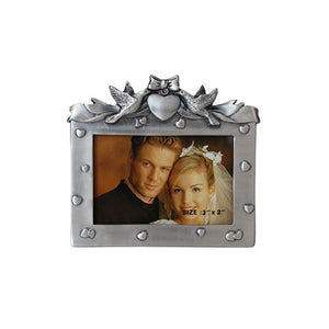 "Love Birds Picture Frame, 2"" x 3"""