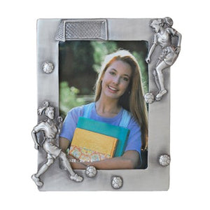 "Soccer Girl, Vertical Picture Frame, 3.5"" x 5"""