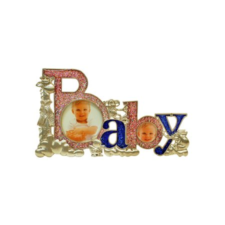 Baby, 2 Holes Picture Frame