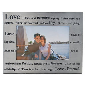 "Love Picture Frame, 4"" x 6"""