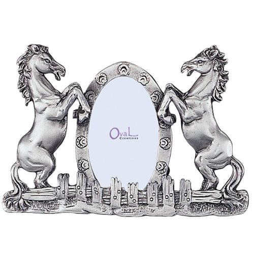 Twin Horses Picture Frame, 2