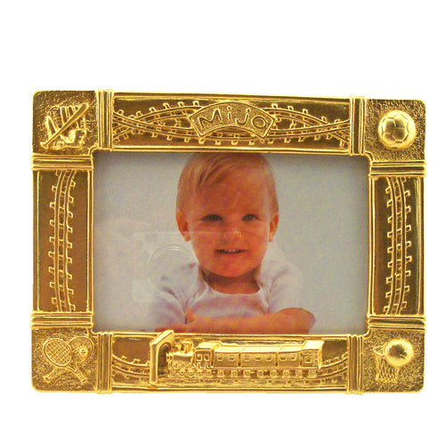Mijo Picture Frame, Gold, 3.5