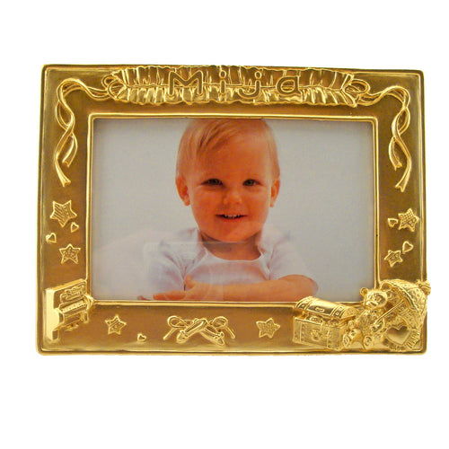 Mija Picture Frame, Gold, 3.5