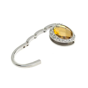 Yellow Diamond Purse Hanger