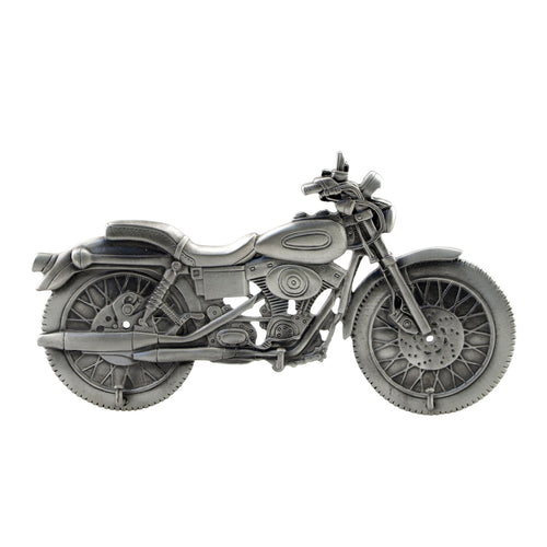 Pewter Motorcycle Triple Hook