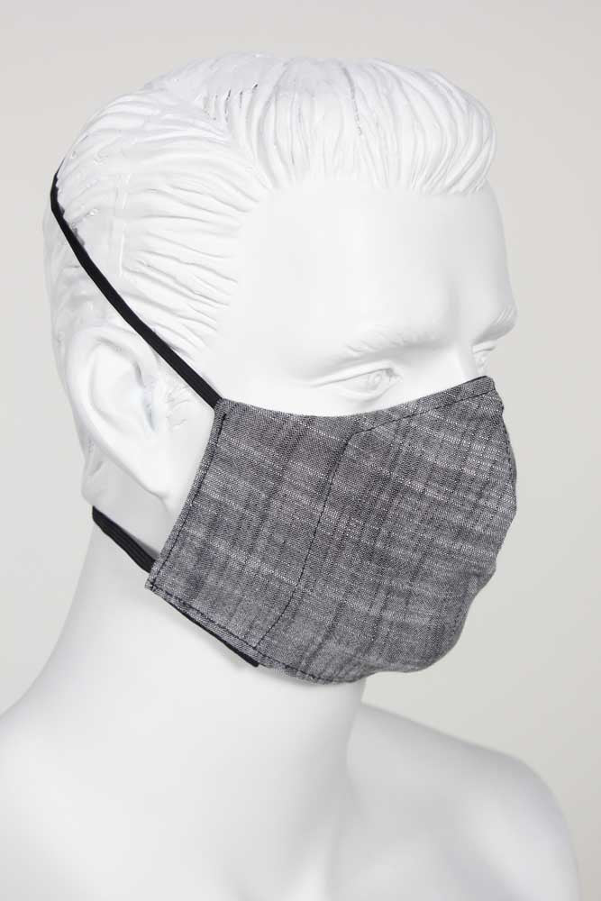 Defender PPE Face Mask - Charcoal