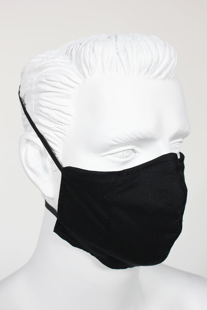 Defender PPE Face Mask - Black
