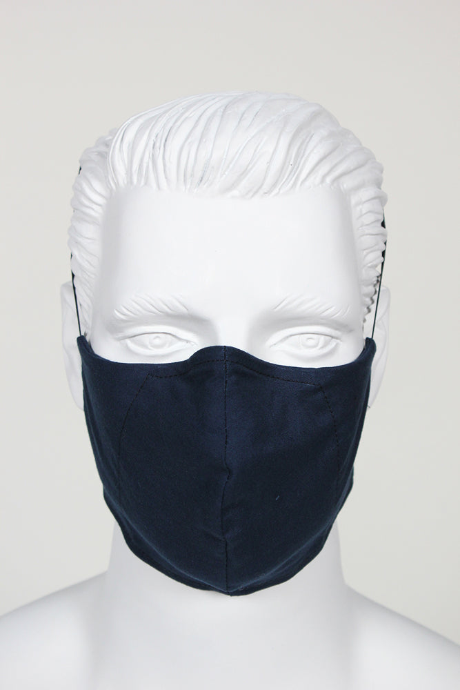 Defender PPE Face Mask - Navy