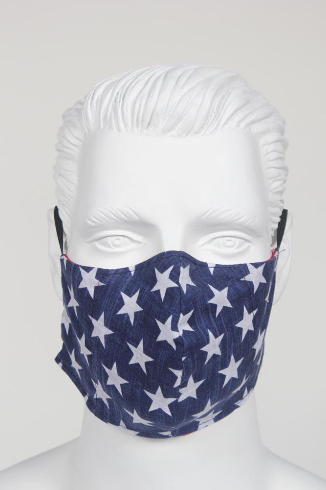 Defender PPE Face Mask - Stars