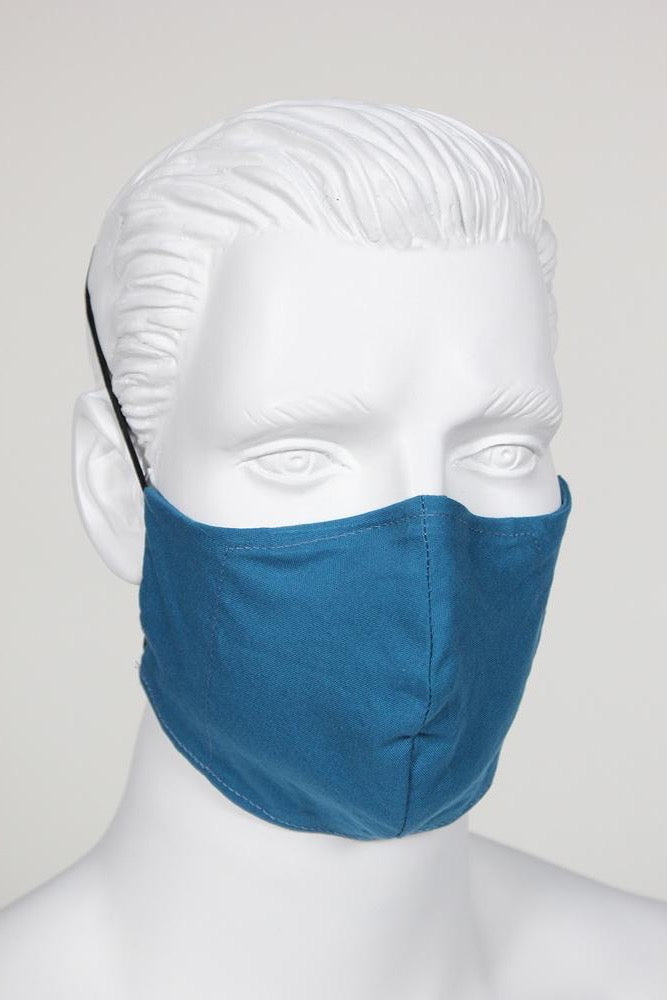 Defender PPE Face Mask - Teal Blue