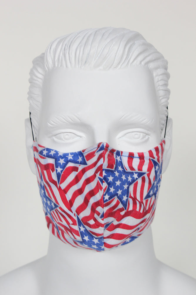 Face Cover - Stars and Stripes