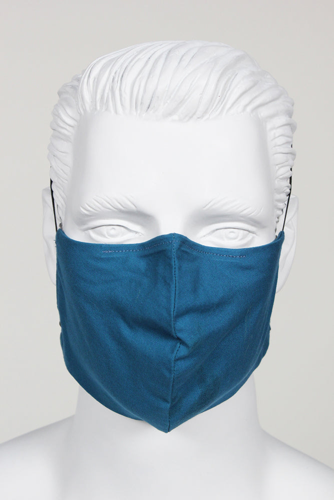 Face Cover - Teal Blue