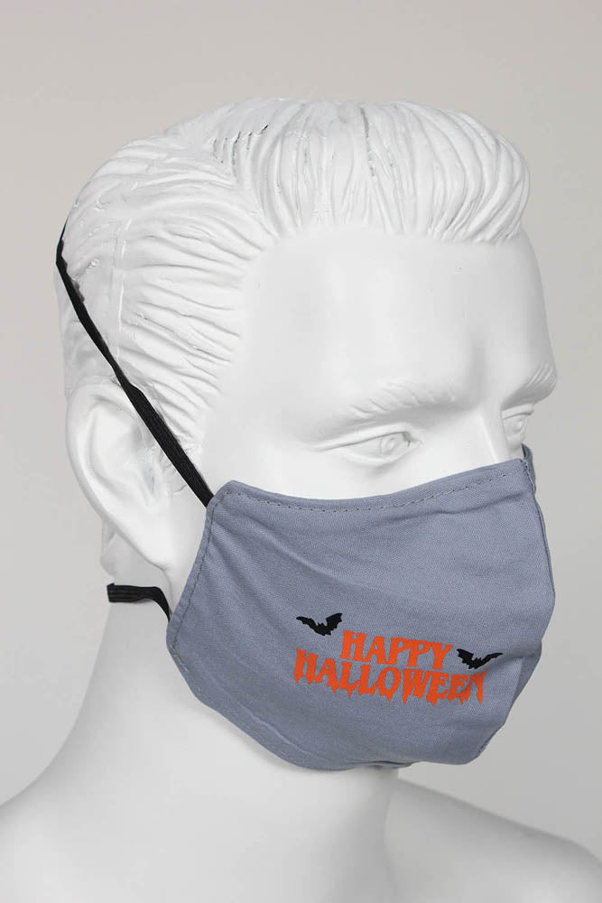 PPE Face Mask - Halloween Bats