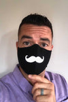 I mustache you a question???? Do you have comfortable premium PPE that shows your style and personality? Try the mustache mask