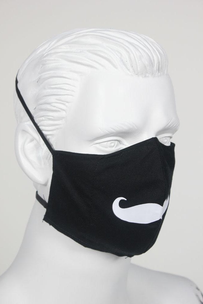 Defender PPE Face Mask - Mustache
