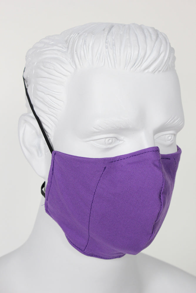 Defender PPE Face Mask - Purple