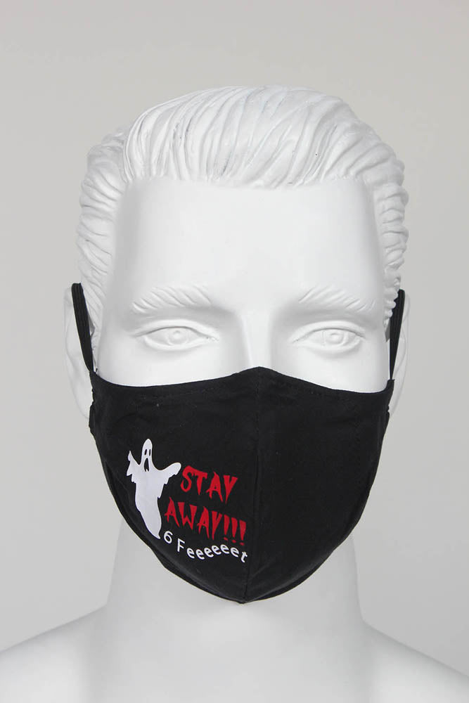 PPE Face Mask - Halloween Ghost