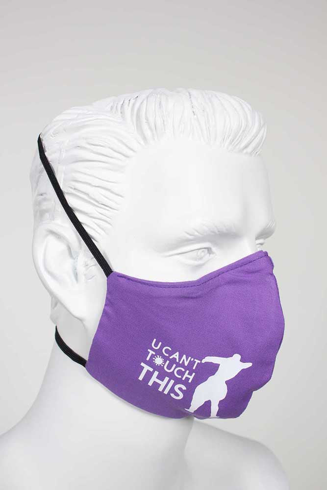 Defender PPE Face Mask - U Can't Touch This