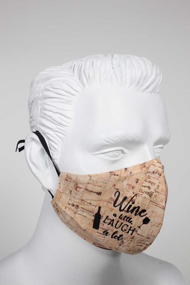 Guardian PPE Face Mask - Wine a Little...