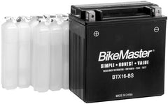 BikeMaster High Performance Maintenance Free Battery BTX14AH-BS