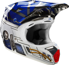 Fox V3 Adult Helmet Star Wars R2D2 Special Edition