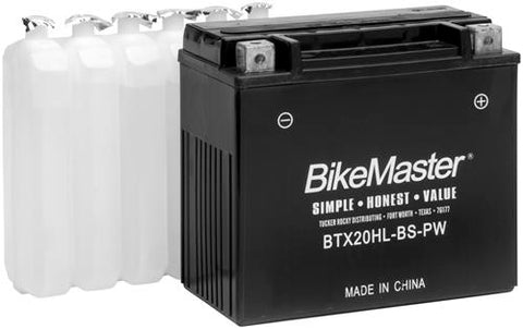 BikeMaster Maintenance Free Battery BTX15L-BS