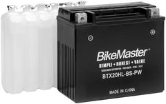 BikeMaster Maintenance Free Battery BT12A-BS