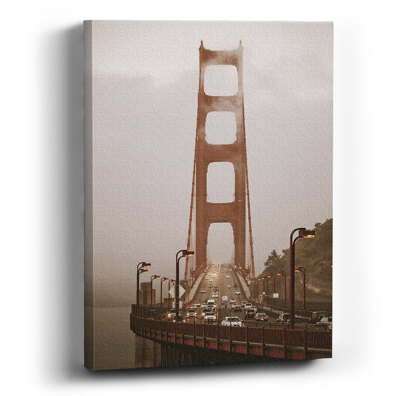 Cuadro Canvas Arman digital art San Francisco Golden gate bridge - balcru