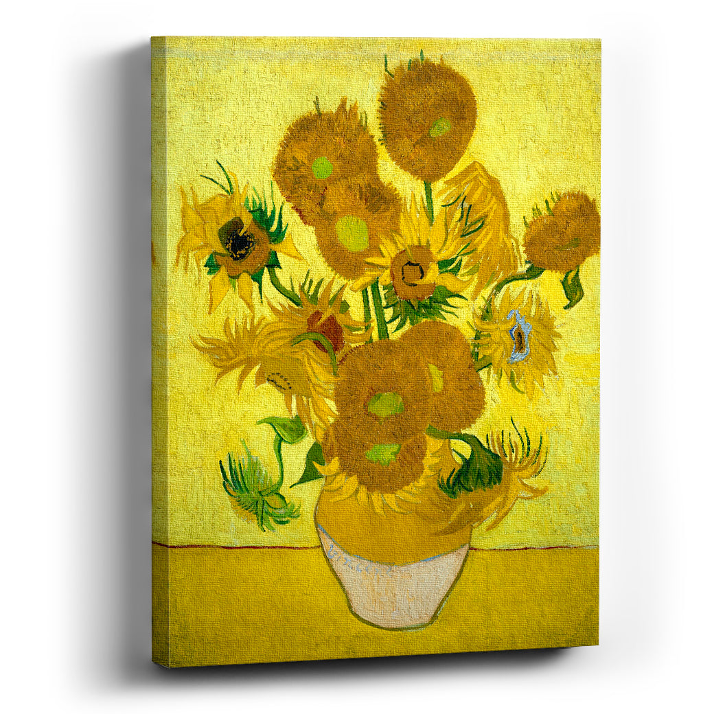 Cuadro canvas  Girasoles Vincent Van Gogh - balcru #Tipo_Canvas