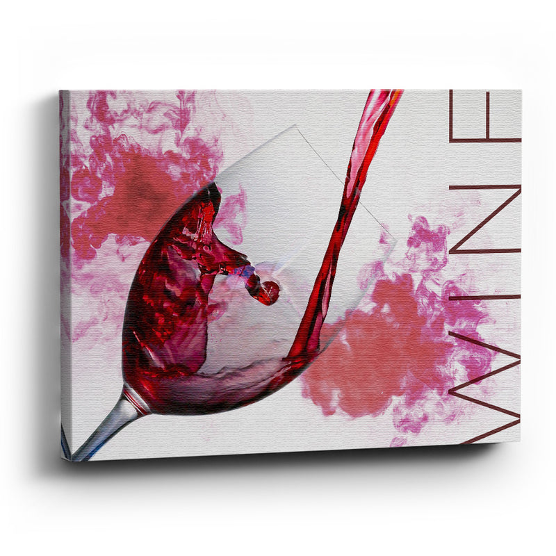 Cuadro canvas Pour that wine - balcru