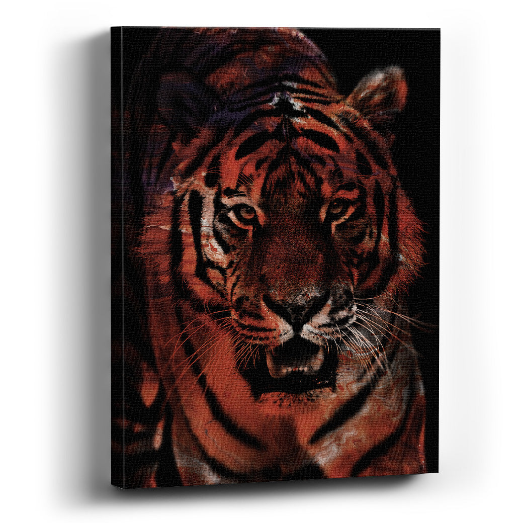 Cuadro canvas  Tigre - balcru #Tipo_Canvas